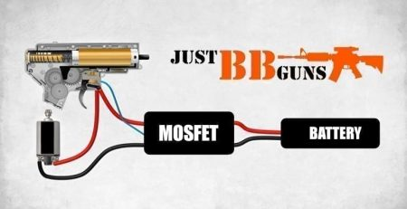 mosfet info at just bb guns airsoft shop