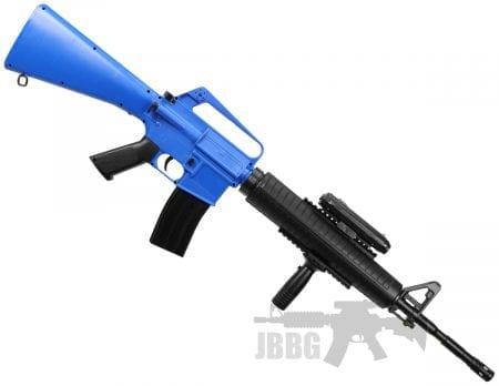well m16a3 spring gun