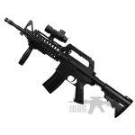 black airsoft gun 2ff