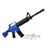 blue jbbg airsoft rifle 44
