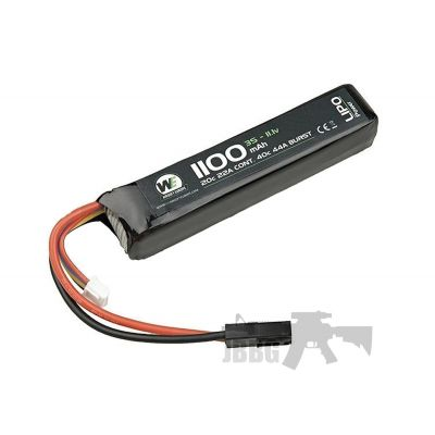 WE 1100mah 7.4V 20C Lipo Battery