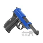 airsoft pistol blue 1