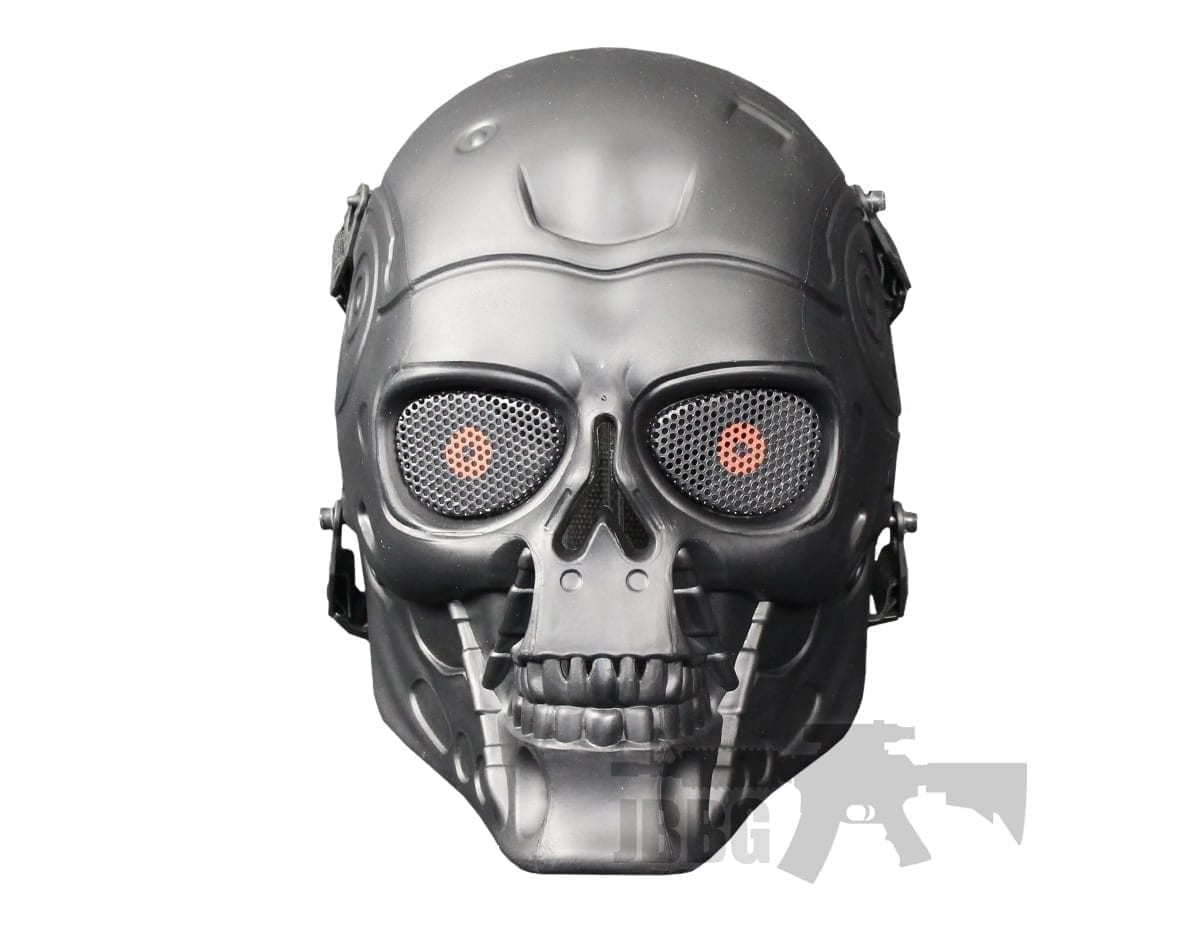 Full Face Skull T2 Airsoft Mask