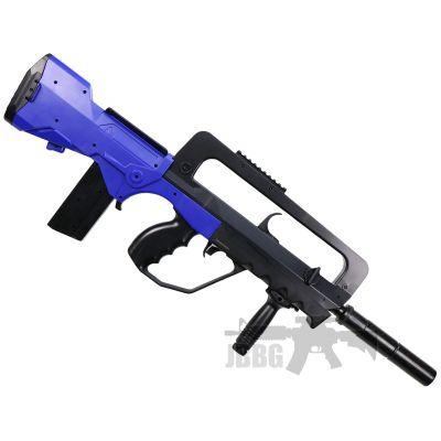 famous m46a electric airsoft gun at jbbg 1 black