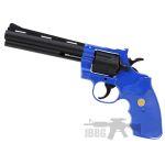 g36 blue revolver gun 1