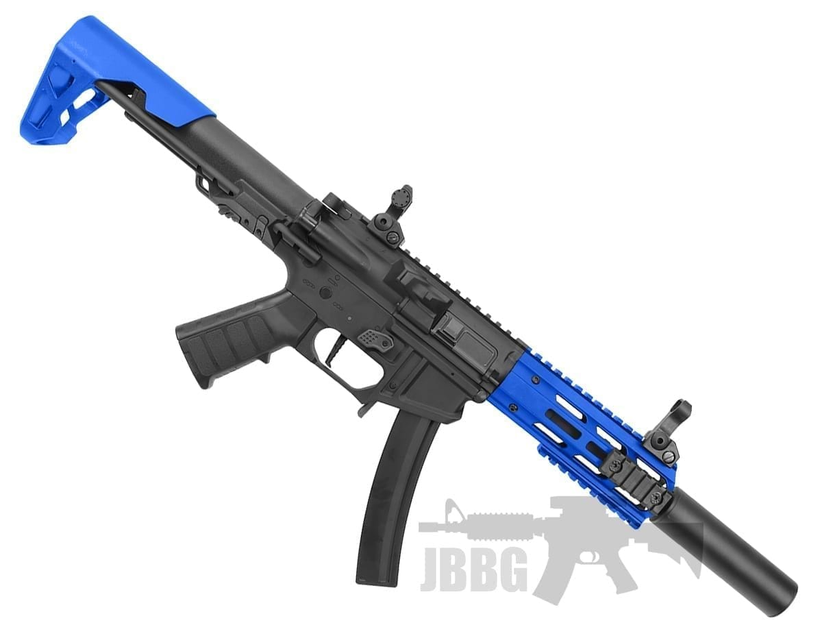 King Arms PDW 9mm SBR Airsoft AEG Rifle