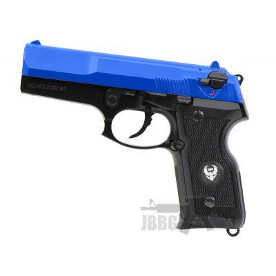 hg160 semi auto airsoft pistol blue pistol 1