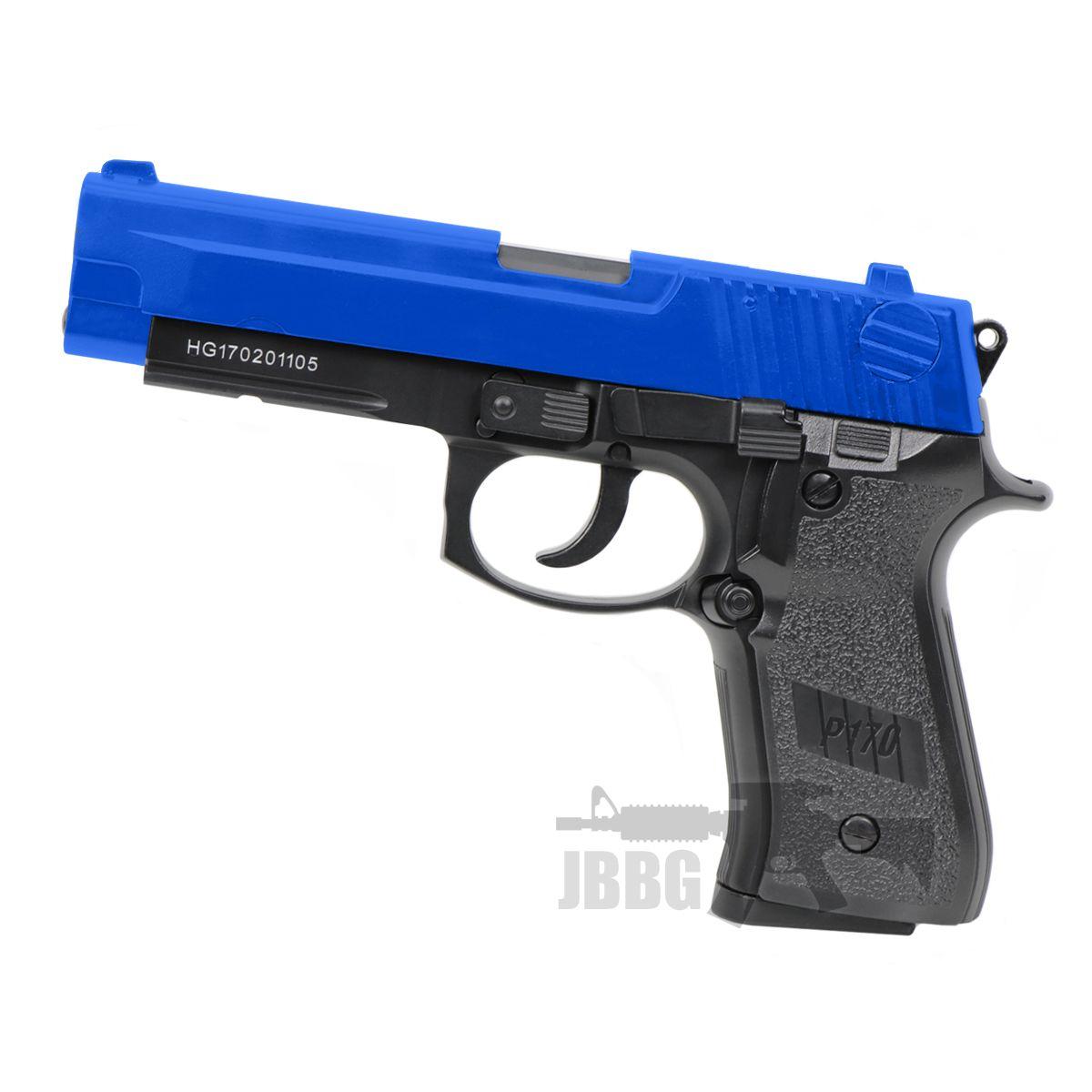 hg170 pistol airsoft gun blue 1
