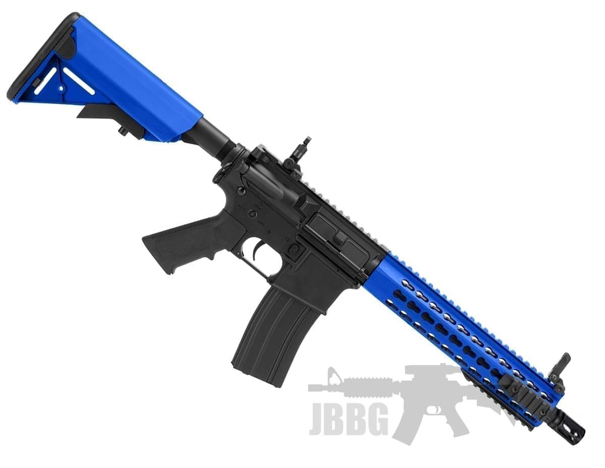 Cybergun Colt M4a1 Metal Keymod Short Aeg Airsoft Rifle Just Bb Guns
