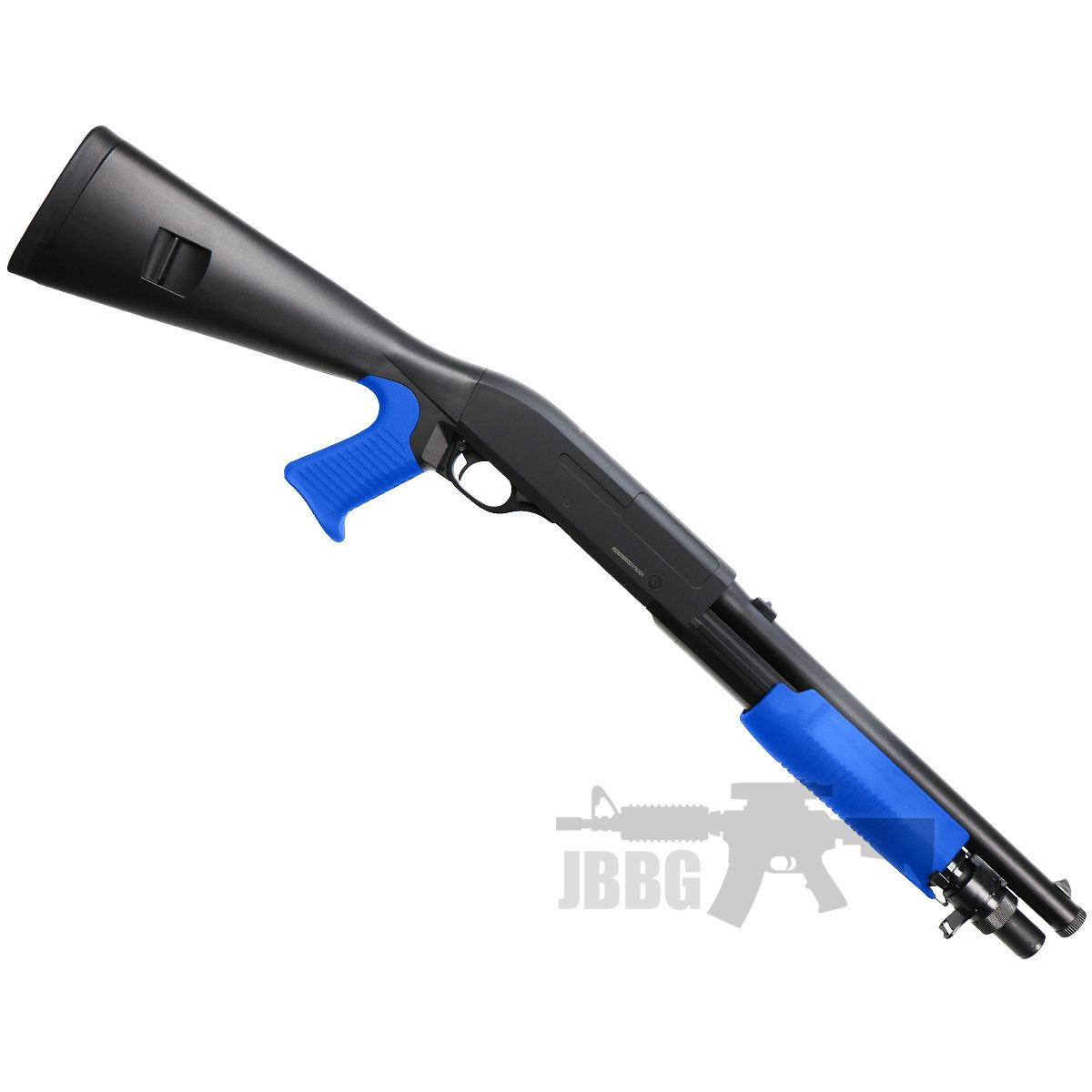 m56a shotgun airsoft jbbg 1 blue