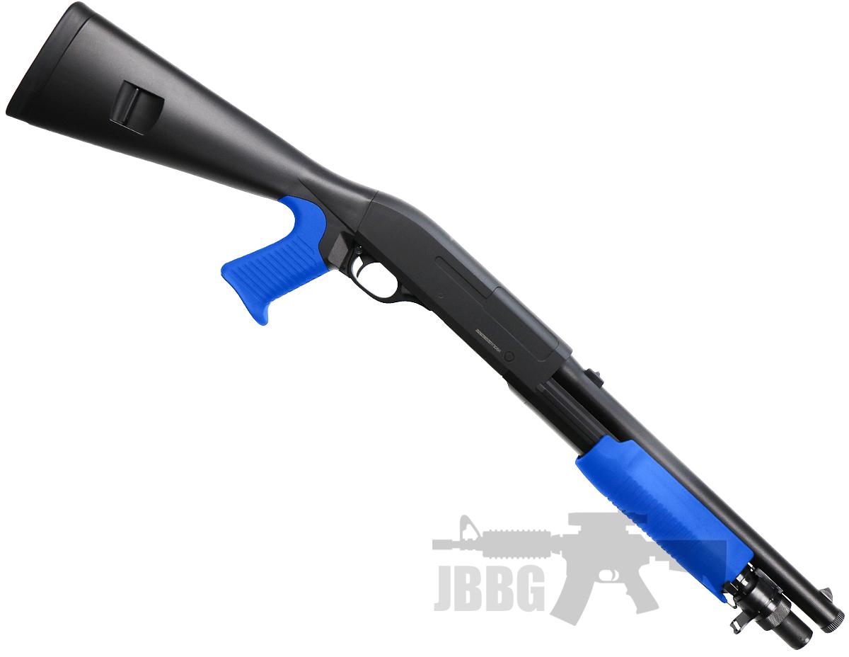 m56a shotgun airsoft jbbg 1 blue