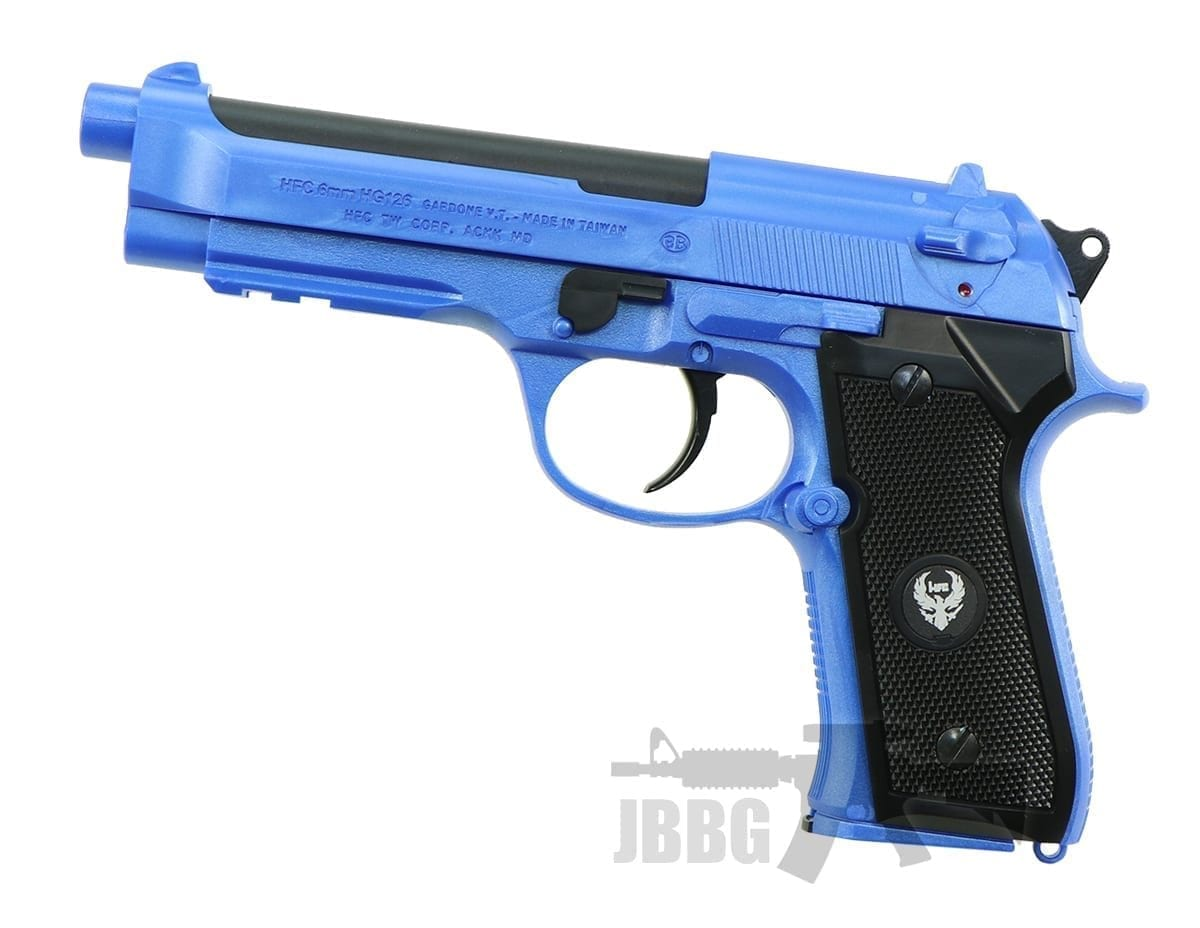HG126 ABS M9 Gas Airsoft Pistol blue