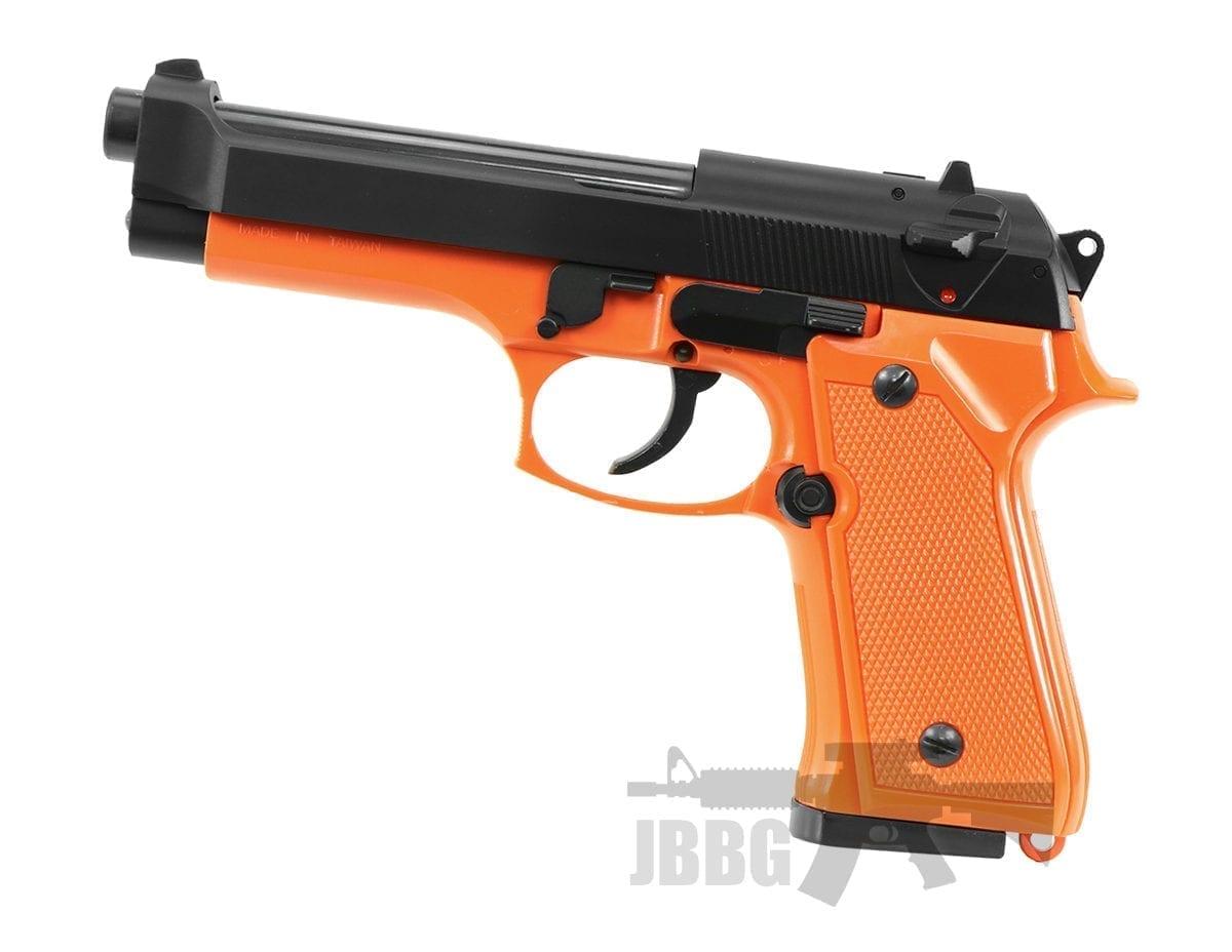 m9 airsoft pistol orange ha118