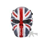 Painted Skull Airsoft Team Mask