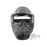 Pro Airsoft Mask Clear black