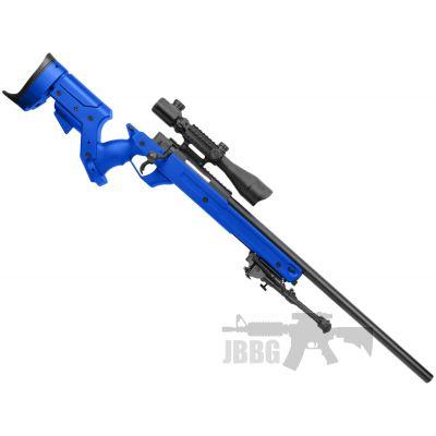 mb04a sniper rifle airsoft bb gun blue 1