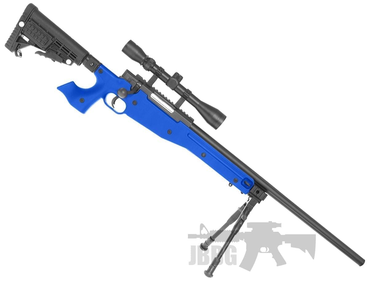 well mb14 airsoft rifle set