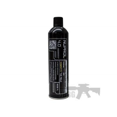 Nuprol 4.0 Gas Black 300g (UK Only)