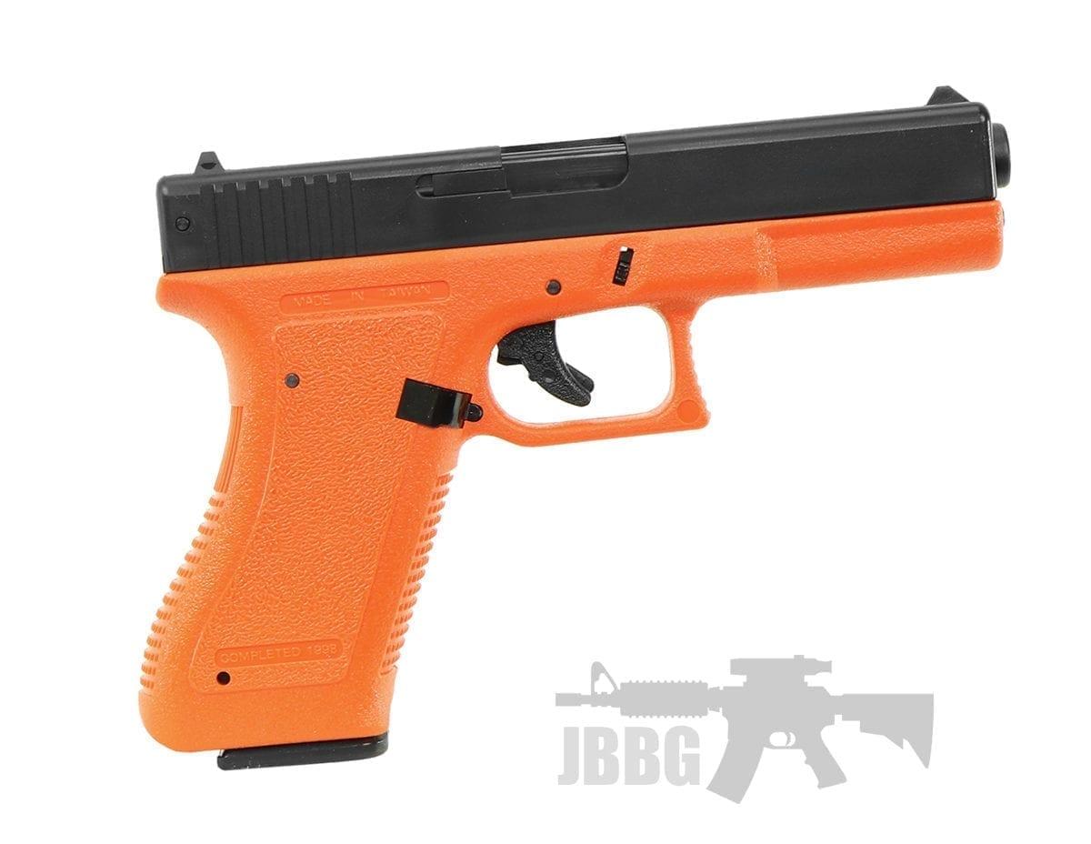 orange airsoft pistol ha117