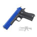 pistal 1911 pistol2 blue