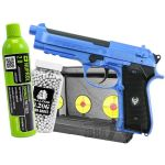 bb pistol bundle set with target