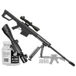 snipper rifle g31 black 22