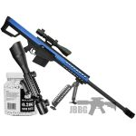 g31 airsoft bb sniper rifle blue