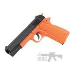 sr1911 orange pistol 2