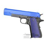 WE1908p 1911 Gas Pistol Blue
