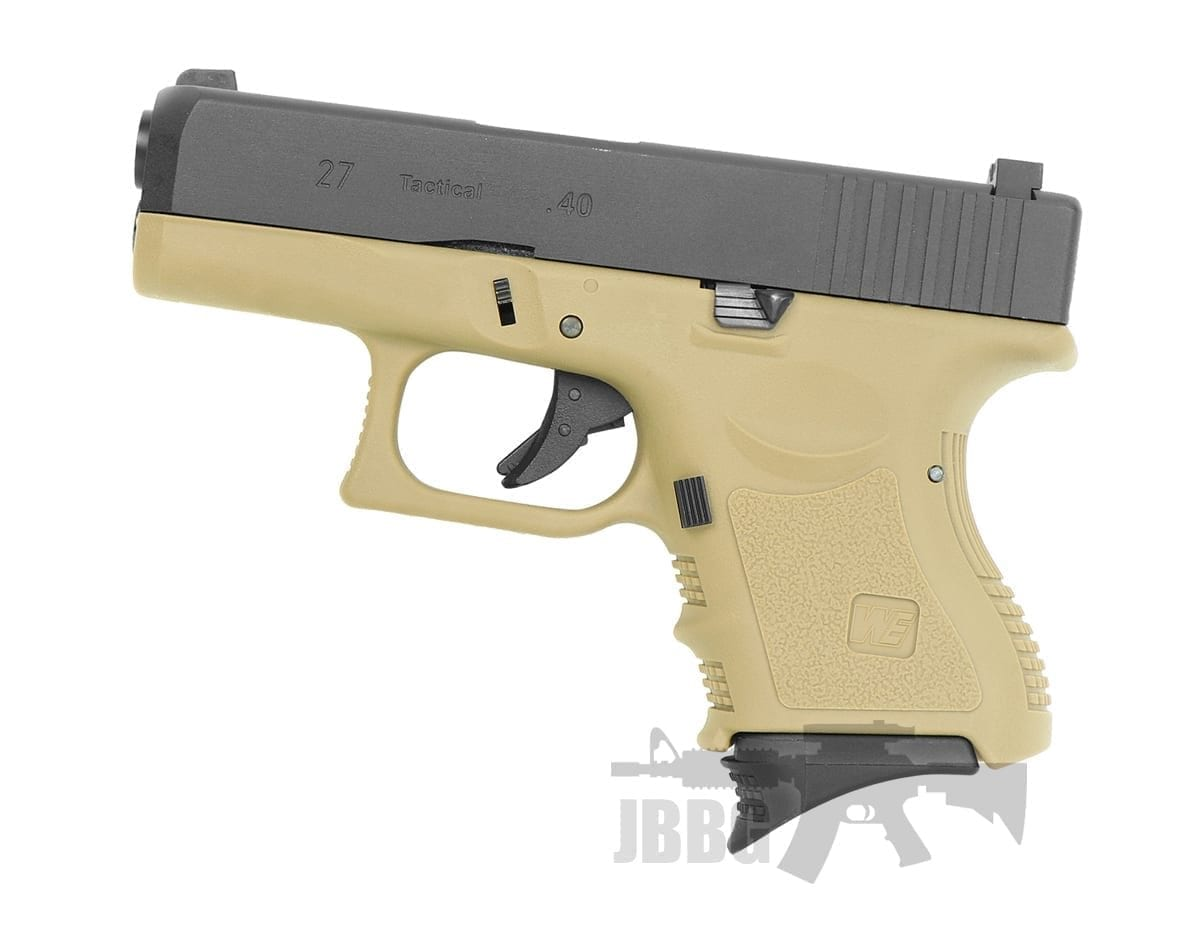 WE EU27 GBB Pistol Tan Edition