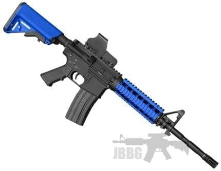 zombie hunter src airsoft gun set blue
