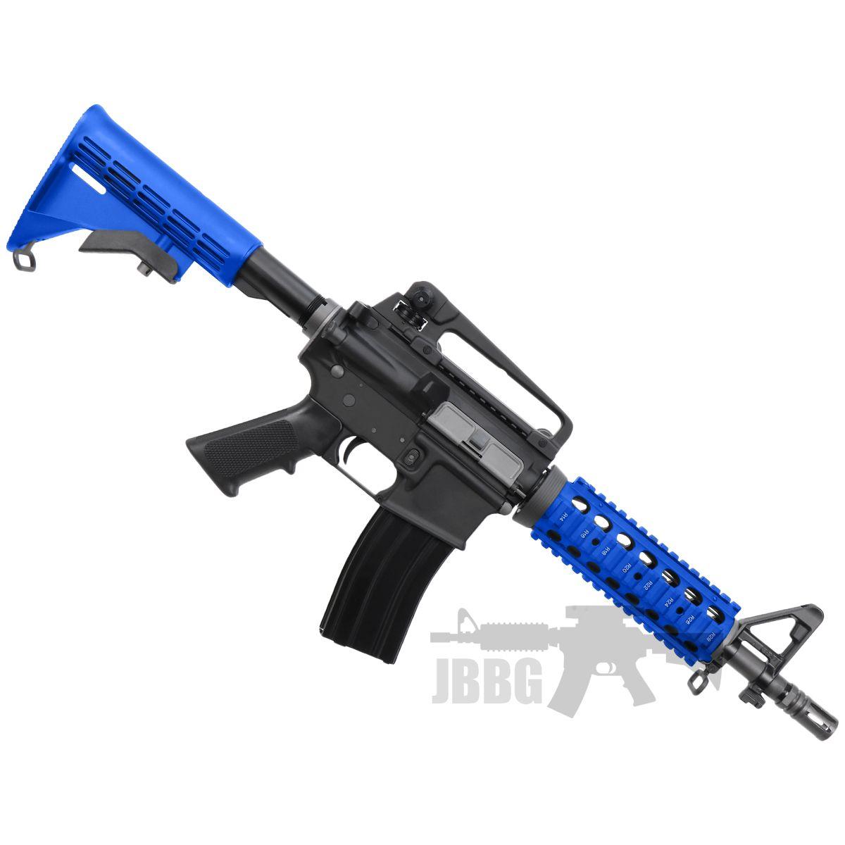 m4 cqb gas airsoft gun 1 blue
