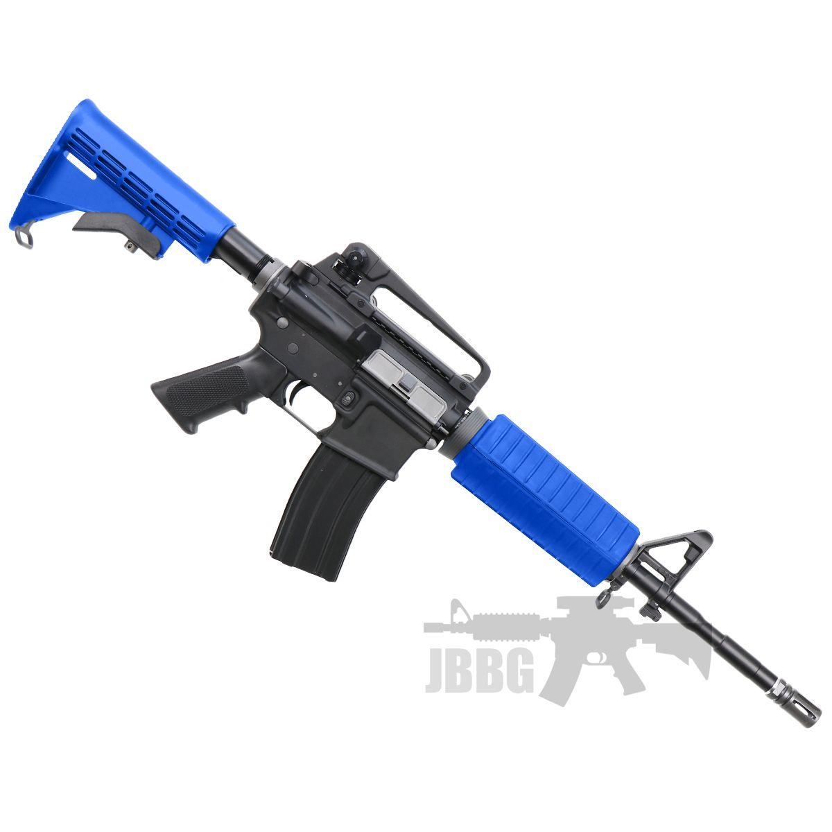 m4 gas airsoft rifle 1 blue