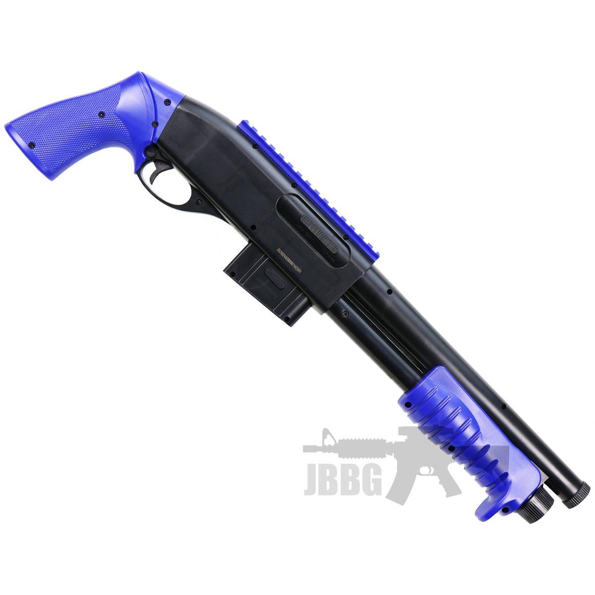 m401 airsoft shotgun blue 1