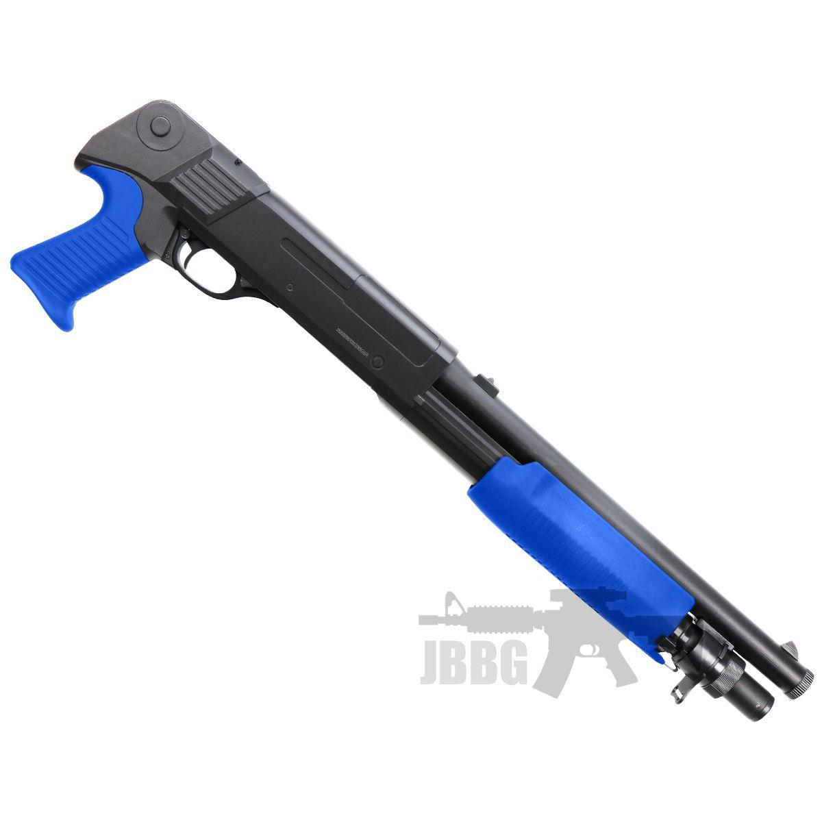 m56b shotgun airsoft blue at jbbg 1