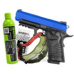 hg171b blue arsoft pistol set