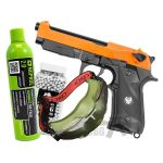 gas airsoft m9 set