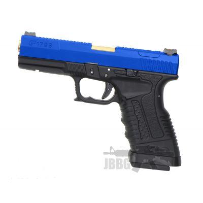 we gp1799 aiesoft pistol gun 2 blue