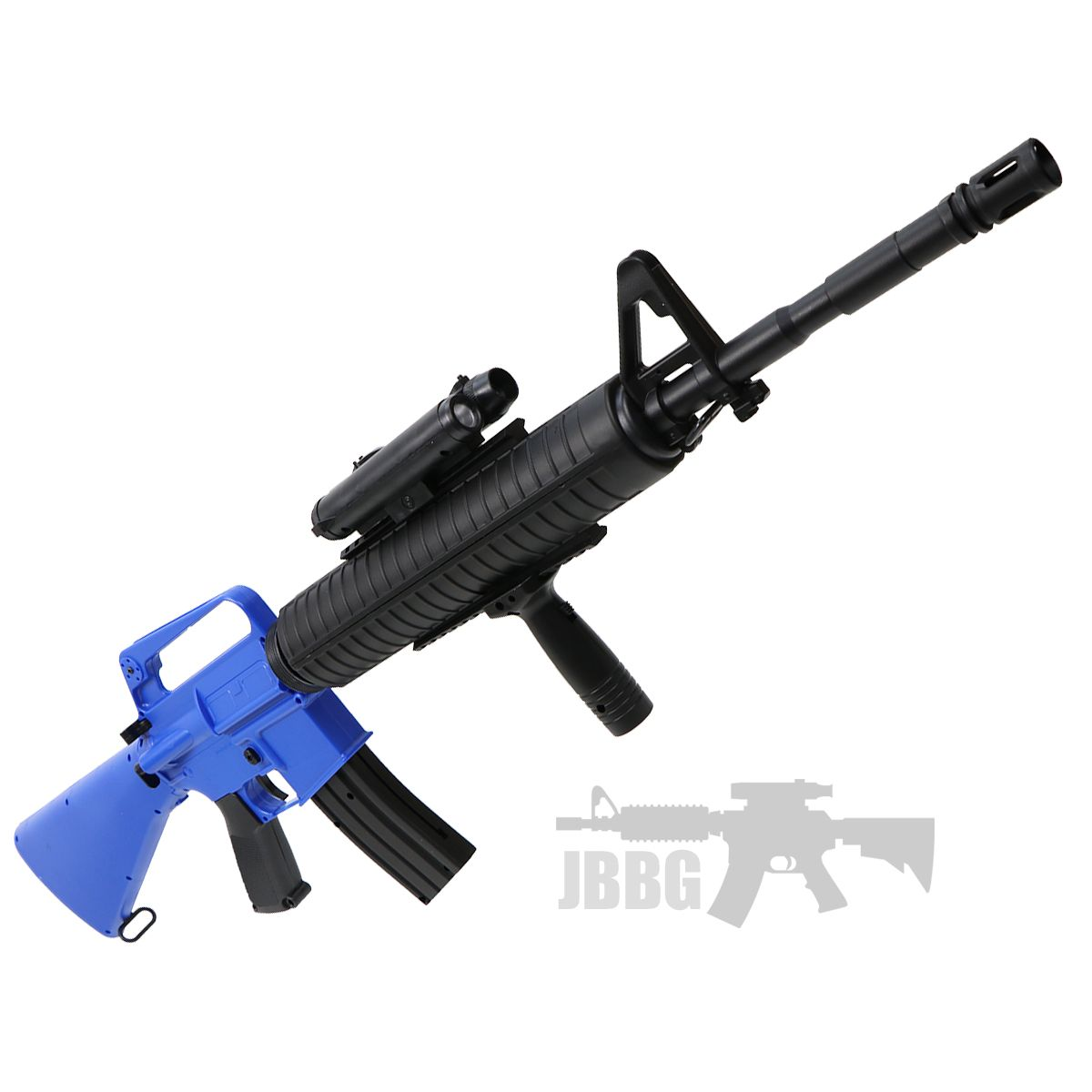 Well M16A3 Carbine Spring Airsoft Rifle