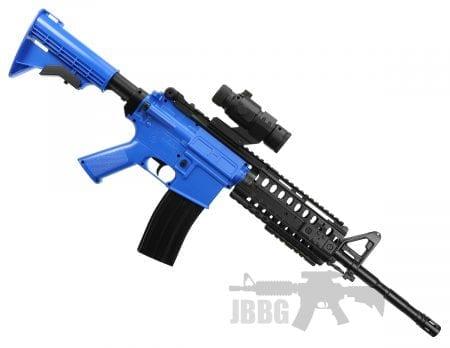 well aeg airsoft bb gun d96