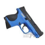 pistol 1 bird blue