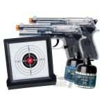airsoft beretta target pistols set