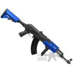 ak47 airsoft gun blue