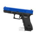 blue hg185 airsoft pistol