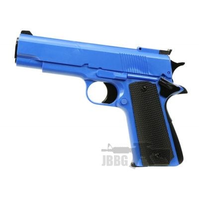 HG123 Gas Airsoft Pistol – Z-BLUE