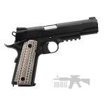 pistol 45 black 55