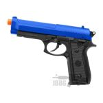 pt92 airsoft pistol blue