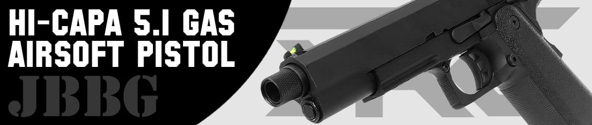 SRC Hi-Capa 5.1 Gas Airsoft Pistol