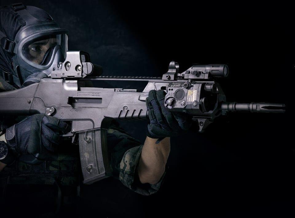 src sr8r airsoft rifle