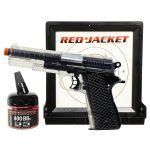 red jacket 1911 airsoft bb pistol set